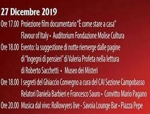 """Gli eventi di """"Natale a Campobasso"""" in programma per il 27 dicembre"""