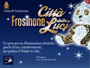 """""""Frosinone città delle luci"""": gli eventi in programma."""