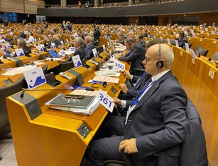 Toma a Bruxelles per il 25° anniversario del Comitato europeo delle Regioni.