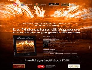 """Presentazione libro sulla """" 'Nodacciata"""" domani 5 dicembre al Teatro Italo Argentino di Agnone"""