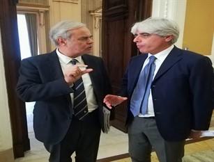 In occasione del 93° anniversario della Provincia di Frosinone la visita del Sottosegretario di Stato al Ministero degli Interni, Achille Variati