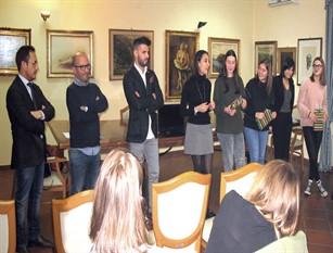 Conferenza stampa di presentazione del progetto 'Co-Walking' di inclusione sociale in ambito lavorativo La presentazione si è svolta a Palazzo San francesco a Isernia