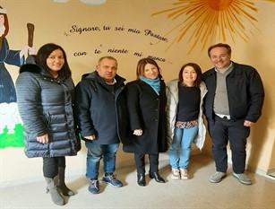 L'assessore regionale alle Pari Opportunità Giovanna Pugliese in visita alla Casa rifugio di Ferentino