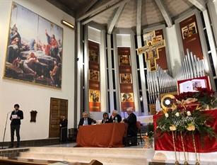 L'intervento del sindaco di Campobasso in occasione dell'incontro con il Cardinale Gualtiero Bassetti