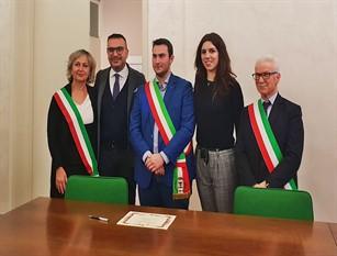 Siglato accordo tra Sabbioneta e Fondi con l'intento divalorizzare una nuovarete di relazioni istituzionali tra i due Enti.