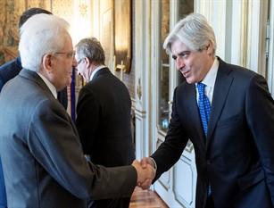 Il Presidente Pompeo incontra il Presidente della Repubblica Mattarella e a fine gennaio sara' in riunione alla Regione Lazio