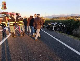 Indagini della Polizia Stradale sull'incidente mortale  di Macchia d'Isernia.