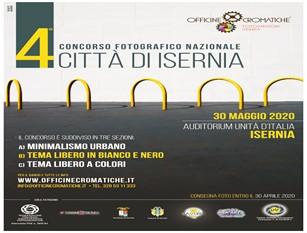 Giunto alla quarta edizione il Concorso Fotografico Nazionale 'Città di Isernia'