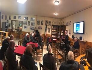 I Carabinieri di Isernia continuano ad incontrare i  cittadini  per  fornire consigli e suggerimenti utili a prevenire truffe e furti ai danni di persone anziane .