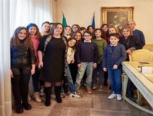 Il consiglio comunale dei ragazzi in visita presso la Prefettura di Isernia