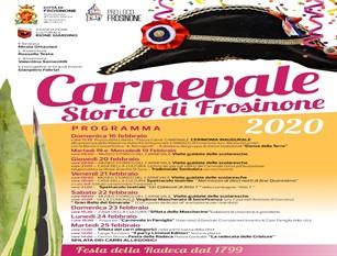 Frosinone, presentata l'edizione 2020 del Carnevale frusinate.