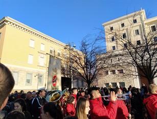 Carnevale a Frosinone, evocato il rito molisano dell'Uomo Cervo