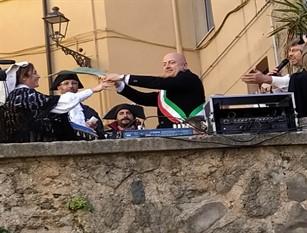 Frosinone, iniziati i festeggiamenti per il Carnevale.