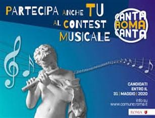 Campidoglio: al via il contest musicale CantaRomaCanta Un concorso per nuovi talenti aperto ai romani. I vincitori verranno scelti dai cittadini sulla pagina Instagram di Roma Capitale