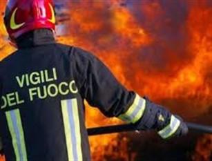 Incendio a Sant'Agapito, fiamme all'interno di un'abitazione