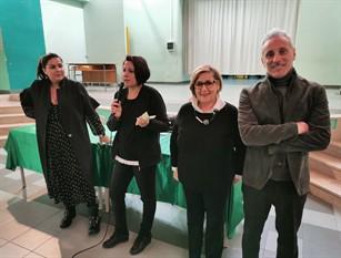 """Bullismo, garante Leontina Lanciano e consigliera Paola Matteo  con i ragazzi della Jovine: """"Grande partecipazione da parte loro"""""""