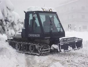 Isernia:  Carabinieri. Operazione di assistenza e soccorso nel corso delle prossime precipitazioni nevose.