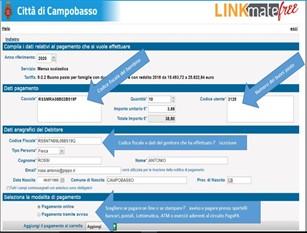 Il Comune di Campobasso attiva il sistema PagoPA per il pagamento della mensa scolastica