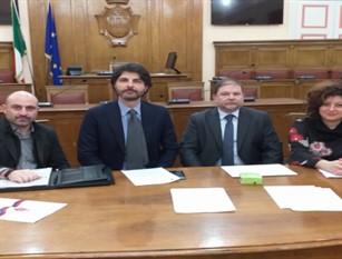 Firmato a Palazzo San Giorgio il protocollo d'intesa tra Amministrazione Comunale e Co.I.S.P. per le attività di sensibilizzazione sulle dipendenze da alcol e droga