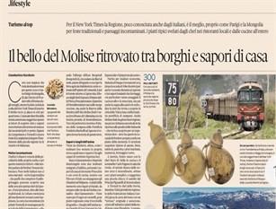 """La visibilità del Molise? Ha un prezzo (e che prezzo) Articolo pubblicato sulla rivista online """"Forche Caudine"""""""