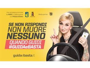 Anas torna a Sanremo con la campagna 'Guidaebasta' per la sicurezza stradale