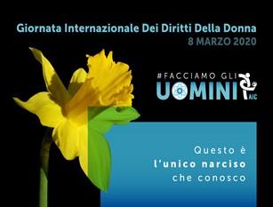 #FACCIAMOGLIUOMINI progetto in occasione dell'8 marzo promossa dall'ACI