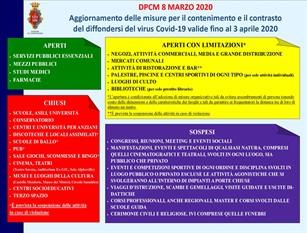Il comune di Campobasso ha disposto delle slide riguardo gli aggiornamenti sul Covid-19