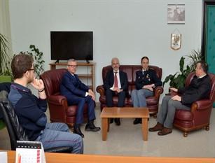 Incontro privato tra Il Questore Conticchio e il nuovo direttore dell'Asrem Florenzano sulle  varie situazioni che riguardano la regione