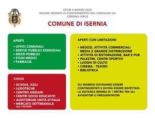 Appello del comune di Isernia alle attività di ristorazione a Isernia