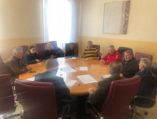 Tavolo di confronto con le autorità locali per discutere sulla gravità della situazione Covid-19 a Isernia