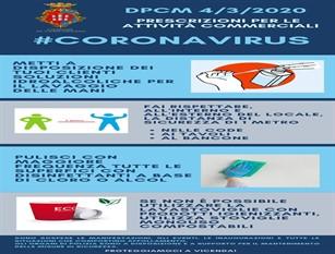 L'amministrazione comunale di Campobasso mette a disposizione norme comportamentali per le attività commerciali