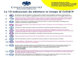 Emergenza CoVid19: incontro con il Questore Conticchio  Una locandina da affiggere nei locali