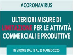 Con Decreto Ministeriale dell'11 marzo, il comune di Fondi emana ordinanza sull'apertura delle attività commerciali