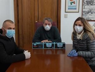 Donate 150 mascherine al comune di Termoli  e 50 ai volontari di Protezione Civile