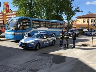 """Isernia, controlli meticolosi al trasporto pubblico locale per la """"Fase 2""""."""