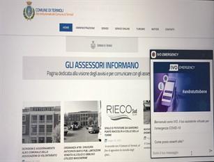 """""""Ivo Emergency"""", sul sito web del comune di Termoli arriva l'assistente virtuale che risponde sulla pandemia"""