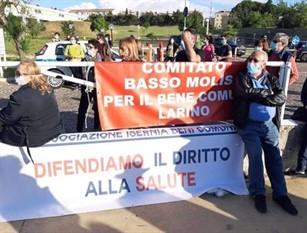 Centro Covid: sindaco Larino, battaglia è per territorio Fanelli pensa a consiglio regionale monotematico