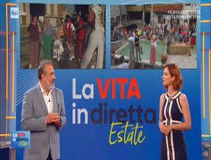 """""""La Vita In Diretta Estate"""" giovedi' pomeriggio a Termoli"""