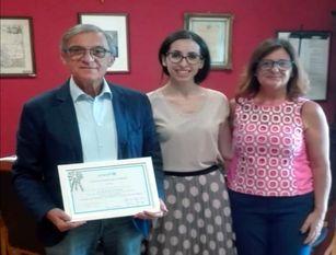 """Isernia, attestato di ringraziamento al sindaco Giacomo d'Apollonio per """"Dona una Pigotta"""""""