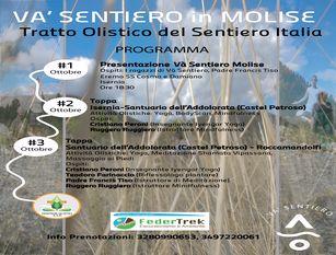 Va' Sentiero arriva in Molise, per gli amanti del trekking 3 giorni di cammino alla scoperta della regione con Sentieri Olistici