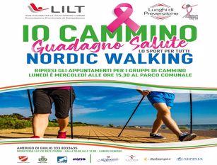 """""""Cammino e guadagno salute"""" – Tornano gli appuntamenti gratuiti del nordic walking"""