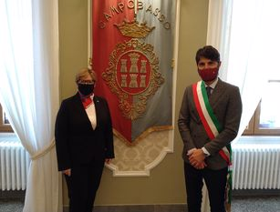 Il sindaco di Campobasso ha incontrato la Console Generale degli Stati Uniti Mary Avery