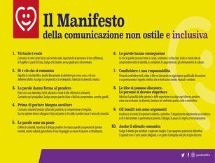 Il Comune di Campobasso approva la mozione per l'adesione al Manifesto della Comunicazione non Ostile