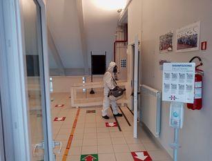 Termoli, avviata l'opera di sanificazione nelle scuole della citta'