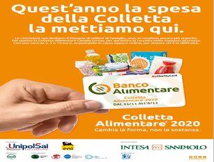 24° Giornata Nazionale della colletta alimentare: quest'anno la spesa si fa con le card