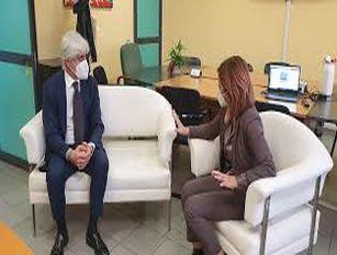 """Il presidente della Provincia Pompeo incontra il dg Asl D'Alessandro """"La sanità dell'emergenza con lo sguardo sempre attento anche oltre il Covid"""""""