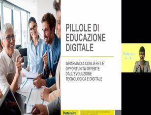 Poste Italiane: a Campobasso e provincia Webinar di educazione digitale Il progetto ha l'obiettivo di contribuire al miglioramento delle competenze dei cittadini nell'utilizzo degli strumenti digitali