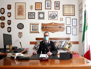 Termoli, promozione per il comandante dei carabinieri Il Capitano Vergine diventa Maggiore. Proviene da zone ad alto indice criminale