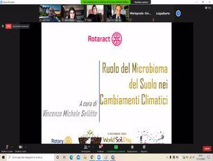 """Rotaract: """"Remiamo insieme per fermare il cambiamento climatico"""""""