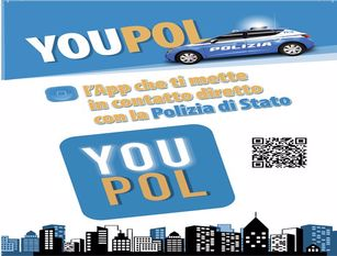 Polizia di Stato: segnalazione su YouPol alla Sala Operativa per assembramento ,contestate 8 violazioni amministrative.  APP della Polizia di Stato YouPol scaricabile su playstore o apstore